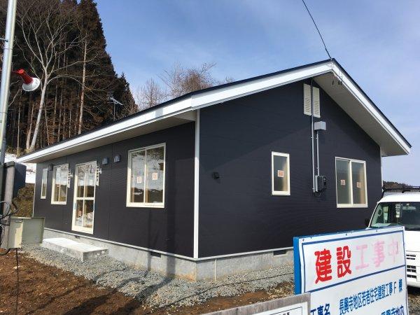 九戸村 村営住宅 完成まであと少し